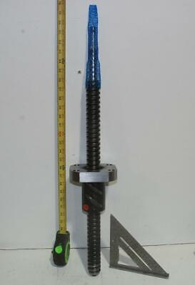 Ball Screw 38.5mm x 550mm Spline Drive - Dimension Drawing - Perfect for a Maker