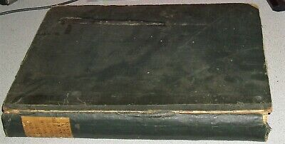 1834 Antique Book w/ Engravings Christ's Hospital School Antiquarian