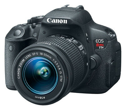 Canon EOS Rebel T5i DSLR Camera 700d 18-55mm Is STM - Ultimate Saving Bundle