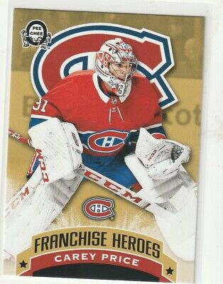 2018-19 OPC Coast to Coast Franchise Heroes Price/Roy Montreal Canadiens