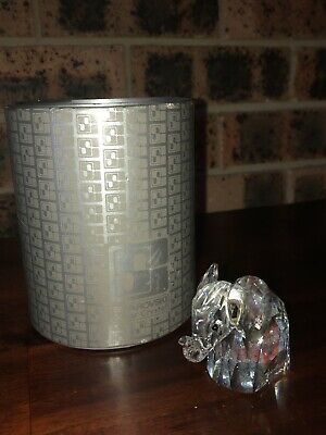 Large Swarovski Crystal Elephant