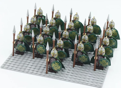 Lord Of The Rings Hobbit Mini Figures Army Of The Dead Zombies Use With lego