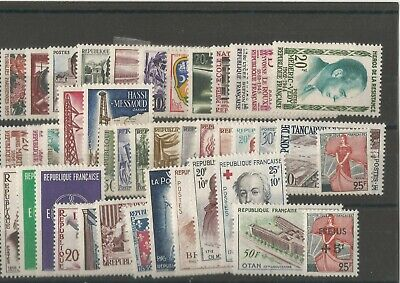 France 1959 Annee Complete Neufs