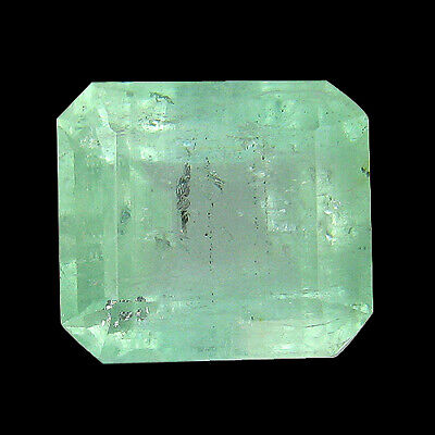 """9.29Ct """"AIG"""" CERTIFIED ! NATURAL GREEN COLOMBIAN EMERALD"""