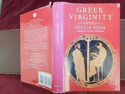GIULIA SISSA: GREEK VIRGINITY by ARTHUR GOLDHAMMER/ANCIENT GREECE/SCARCE 1990