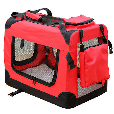 Trasportino Cane per Transportbox Reisebox Auto Gatto Box S - XL