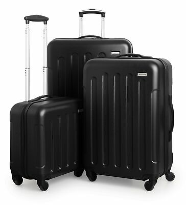 SUITLINE Koffer-Set Trolley-Set Hartschalen Koffer Reisekoffer TSA S M & L