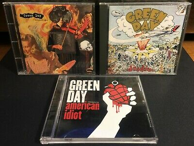 CD Bundle Green Day 3 CD's