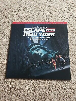 Escape from New York - laserdisc