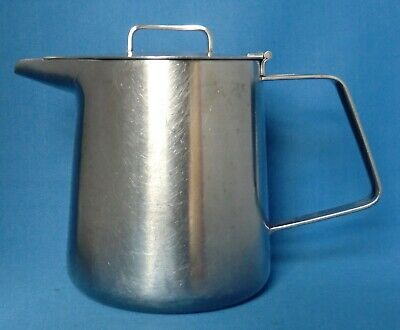 Vintage Stainless Steel Old Hall Oriana Teapot designed by Robert Welch