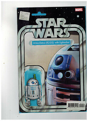 STAR WARS #61  1st Printing - Action Figure Variant Cover   / 2019 Marvel Comics