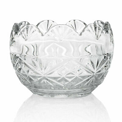 """Marquis by Waterford Regal 5.5"""" Crystal Fan & Wedge Cut Bowl (see notes)"""