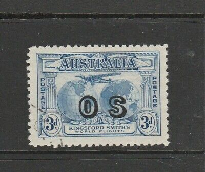 Australia Officails 1931 Kingsford Smith 3d Opt OS, VFU SG O124