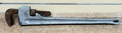 """*Ridgid 36"""" Aluminum Adjustable Pipe Wrench Pre-owned Free Shipping"""