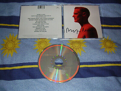 Bryan Adams - Shine A Light - SIGNED AUTOGRAPED CD album 2019 (Genuine)