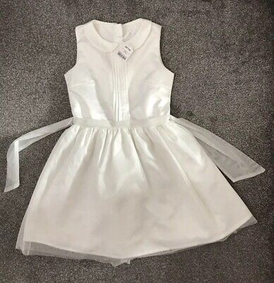 BNWT Girls ivory occassion Dress from Next. Age 13 years.