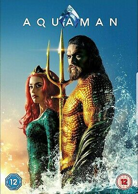 Aquaman dvd Brand new sealed