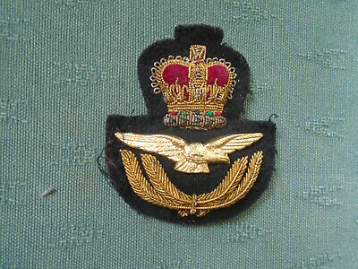 WWII Royal Air Force Pilot wings iron on embroidered patch