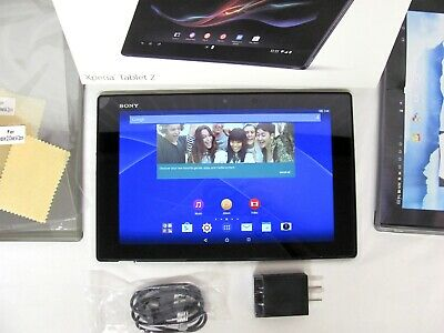 "Sony Xperia TABLET Z Black Wi Fi 16GB 10.1"" +Box!"
