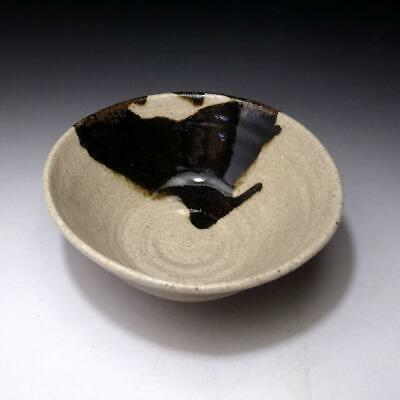RE4: Vintage Japanese Tea Bowl, Hosshoji Ware, by Famous Potter, Yuzo Ando