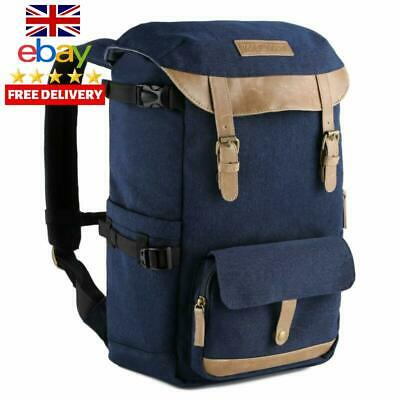 Camera Backpack Waterproof With Rain Cover,KF Concept Large Capacity Rucksack D