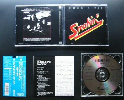 HUMBLE PIE Smokin 1972/93 JAPAN CD w/OBI POCM-1888 Steve Marriott Stephen Stills