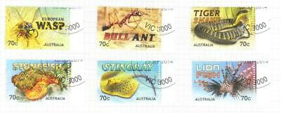 Australia 2014 Things That Sting Used Set Of 6