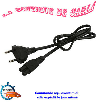Cable alimentation Sony Playstation cordon secteur AC embout 8 PS1 PS2 PS3 PS4