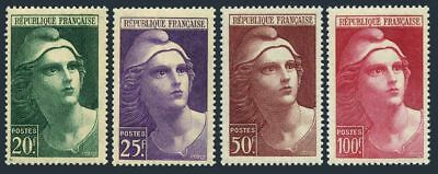 France 553-556,MNH.Michel 703-706 Marianne 1945.