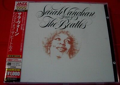 Sarah Vaughan Songs Of The Beatles CD NEW SEALED Digitally Remastered Hey Jude+