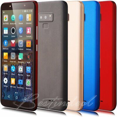 "6"" Cheap Android 7.0 Unlocked 2G 3G Mobile Phones Quad Core DuaL SIM Smartphone"