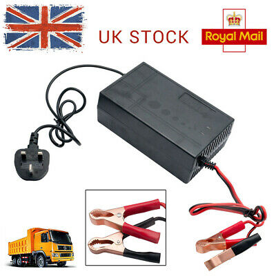 12V 20A Connect and Forget Leisure Battery Charger | Boat | Caravan | Motorhome