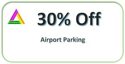 30% OFF Airport Parking Voucher - National Coverage Airports