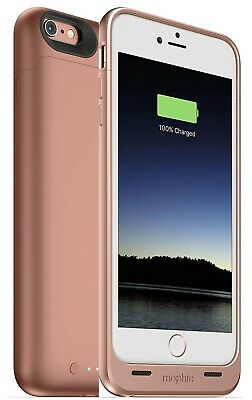 mophie Juice Pack Protective Battery Case for iPhone 6s/6 PLUS 2600mAh Rose Gold