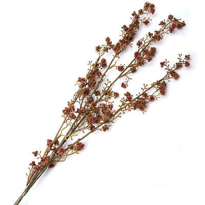 Group of 6 Burgndy Artificial Wildflower Stems