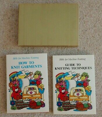VTG Bible for Machine Knitting Boxed Set Guide to Techniques & How to Garments