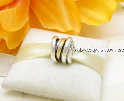 44d55d2fa PANDORA (790153) .925 Sterling Silver / 14K Yellow Gold, Ring ...
