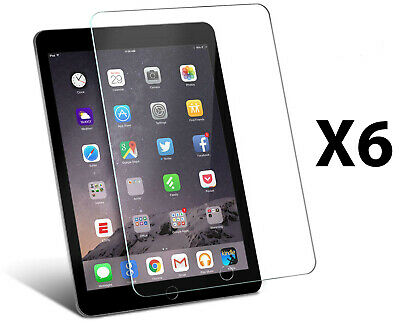 6 x Crystal Clear Screen Protector Cover For Apple iPad Mini 1 2 3