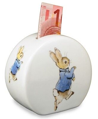 Reutter Porcelain Beatrix Potter Peter Rabbit China Money Bank