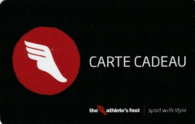 CARTE CADEAU  GIFT CARD -   The Athlete's foot ( FRANCE )