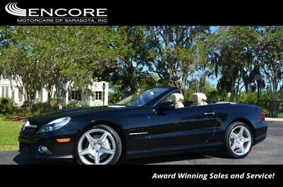 2009 Mercedes-Benz SL-Class SL550 2 Door Roadster W/P1 and SL Wheeel Packages 2009 SL-Class Convertible 28,861 Miles With warranty-Trades,Financing & Shipping