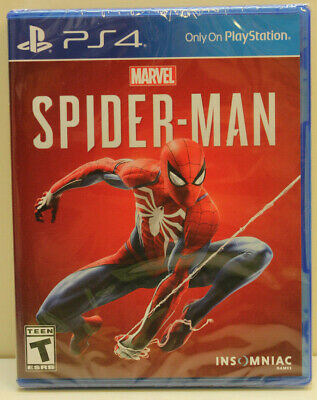 Marvels Spider-Man (Sony PlayStation 4, 2018) - NEW - Fast Free Shipping!