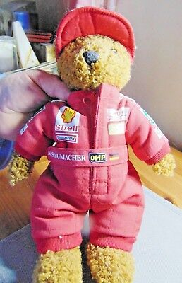 Formula 1 Michael Schumacher Official World Championship 2000 Bear