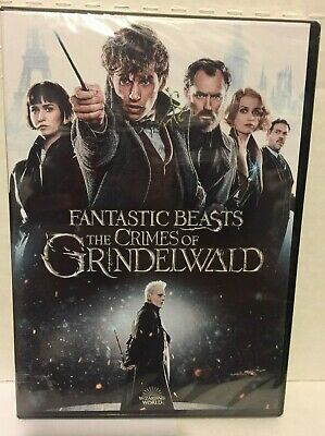 Fantastic Beasts The Crimes of Grindelwald (2019 DVD)  free shipping