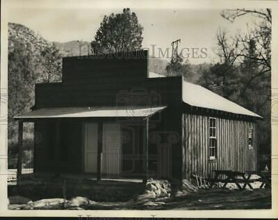 1966 Press Photo Reconstructed Version of Kern County Courthouse in California