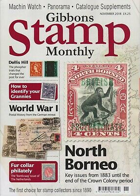 Gibbons Stamp Monthly, Vol 49, No 6, November 2018 - Cover Price £4.25