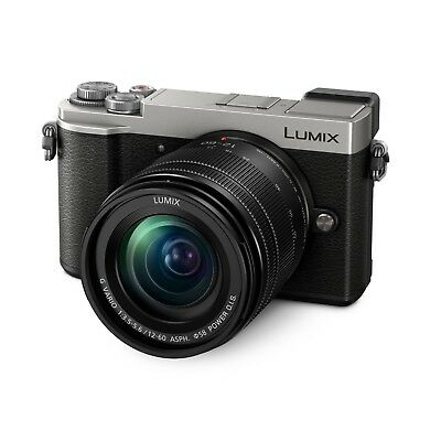 Panasonic Lumix GX9 (Silver) w/12-60mm Vario Lens *NEW* *IN STOCK*