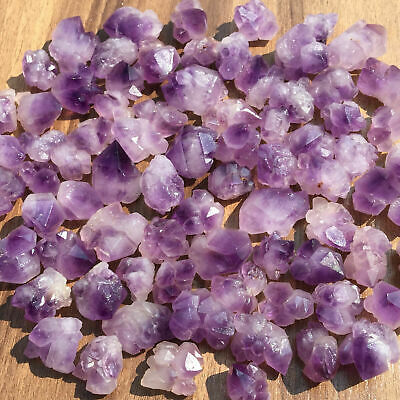 Natural amethyst quartz cluster crystal specimen Mineral point healing 2.2LB
