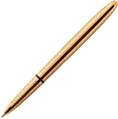 "Fisher Space Pen Lacquered Brass Bullet Space Pen 5.25"" Gift Boxed 400G **NEW**"