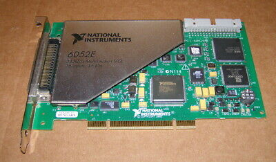 National Instruments PCI-6052E 333KS/S Multifunction 16 Inputs 16 bits Card